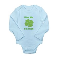 Irish Long Sleeve Infant Bodysuit