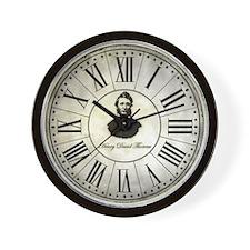 Henry David Thoreau vintage Wall Clock
