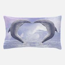 Dolphins Kisses Pillow Case