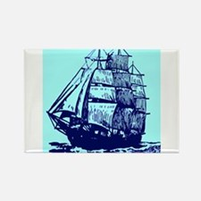 Tall ship Rectangle Magnet
