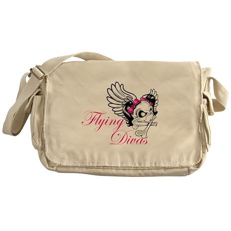 Flying Divas Messenger Bag