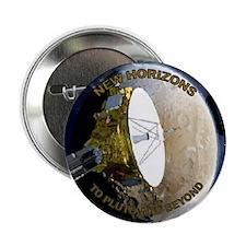 "To Pluto & Beyond 2.25"" Button"