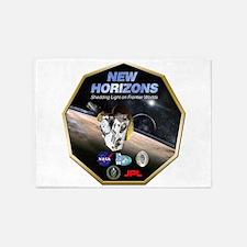 New Horizons Program Logo 5'x7'Area Rug