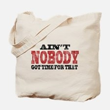 Red ANGTFT Tote Bag