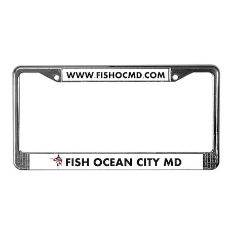 FISH OCMD License Plate Frame