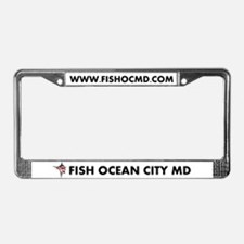 FISH OCMD License Plate Frame