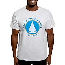 ABACO CRUISERS NET Ash Grey T-Shirt