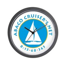 ABACO CRUISERS NET Wall Clock