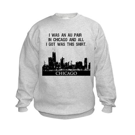 Au Pair in Chicago Sweatshirt