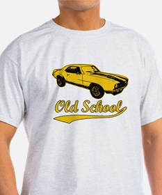 yel Old School scrip T-Shirt