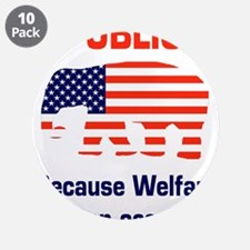 """welfareoccupation.png 3.5"""" Button (10 pack)"""