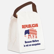 welfareoccupation.png Canvas Lunch Bag