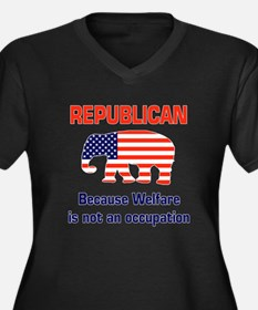 welfareoccupation.png Plus Size T-Shirt