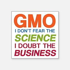 Anti GMO Business Sticker