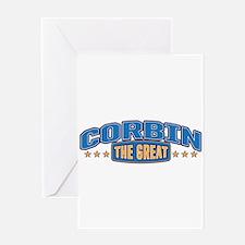 The Great Corbin Greeting Card