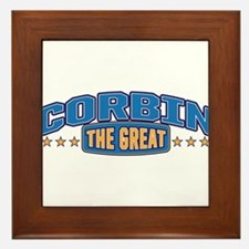 The Great Corbin Framed Tile