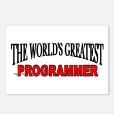 """""""The World's Greatest Programmer"""" Postcards (Packa"""