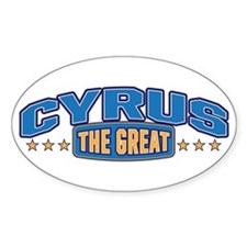 The Great Cyrus Decal