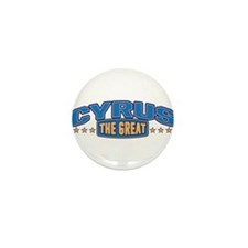 The Great Cyrus Mini Button (10 pack)
