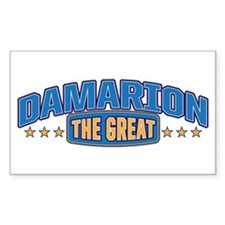 The Great Damarion Decal