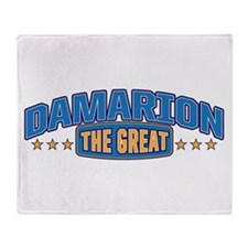 The Great Damarion Throw Blanket