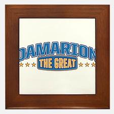 The Great Damarion Framed Tile