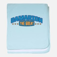 The Great Damarion baby blanket