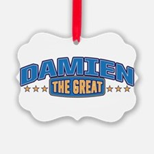 The Great Damien Ornament