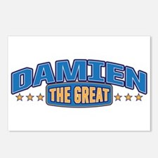 The Great Damien Postcards (Package of 8)