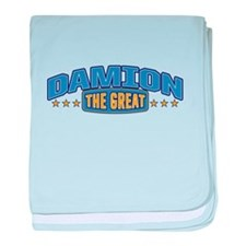 The Great Damion baby blanket