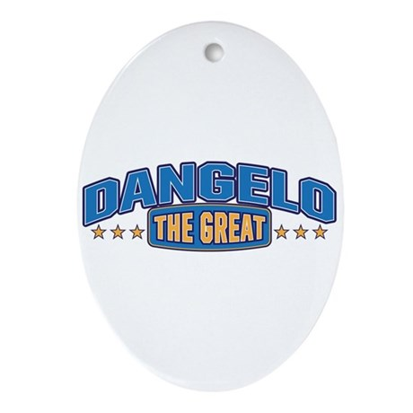 The Great Dangelo Ornament (Oval)