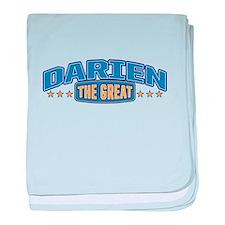 The Great Darien baby blanket