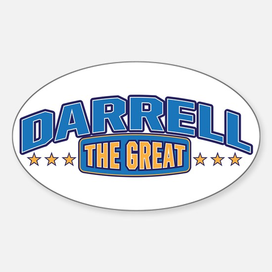 The Great Darrell Decal
