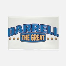 The Great Darrell Rectangle Magnet