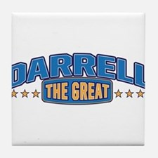 The Great Darrell Tile Coaster