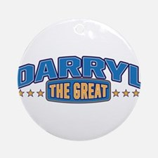 The Great Darryl Ornament (Round)