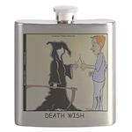 Death Wishbone Flask