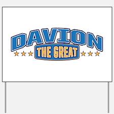 The Great Davion Yard Sign