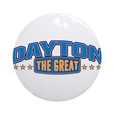 The Great Dayton Ornament (Round)