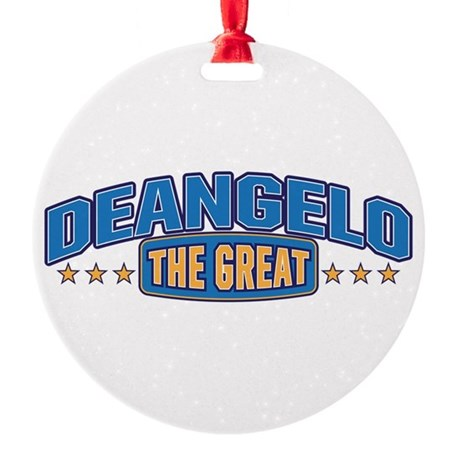 The Great Deangelo Ornament