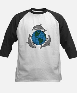 Dolphins and Earth Tee