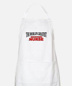 """The World's Greatest Registered Nurse"" BBQ Apron"