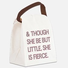 Fierce Canvas Lunch Bag