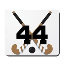 Field Hockey Number 44 Mousepad