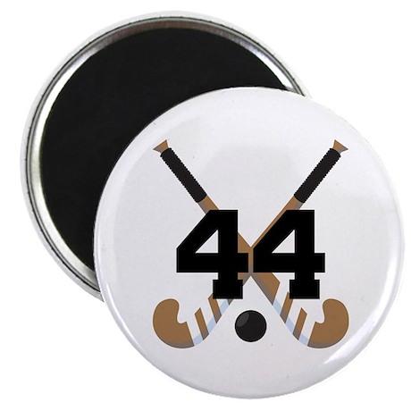 Field Hockey Number 44 Magnet