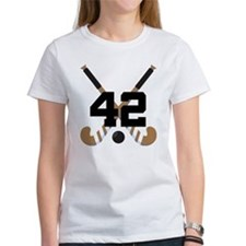 Field Hockey Number 42 Tee