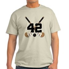Field Hockey Number 42 T-Shirt