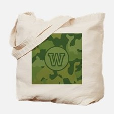 Green Camouflage Tote Bag