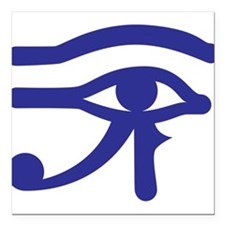 "Eye of Horus Square Car Magnet 3"" x 3"""