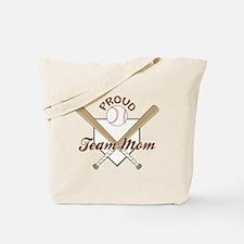 PROUD TEAM MOM Tote Bag